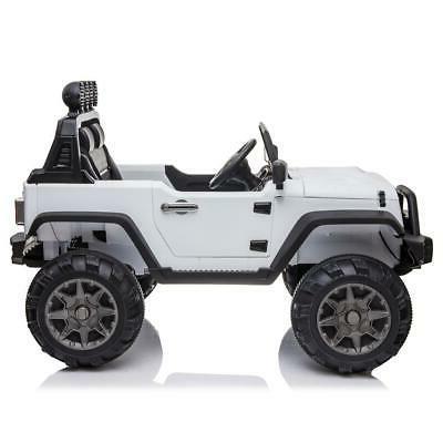 12V Ride on Toys LED w/ Storage Basket