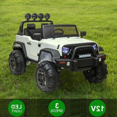 12V Electric Ride Toys LED Storage