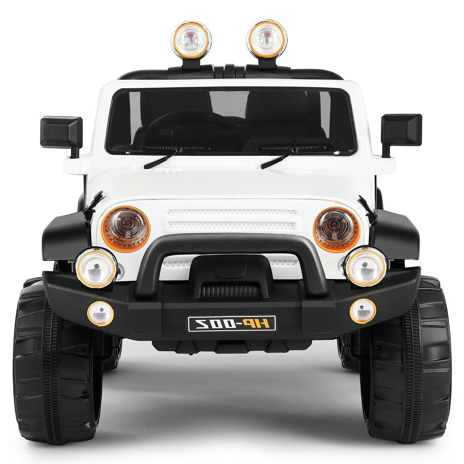 12V White on Car Electric LED w/Remote