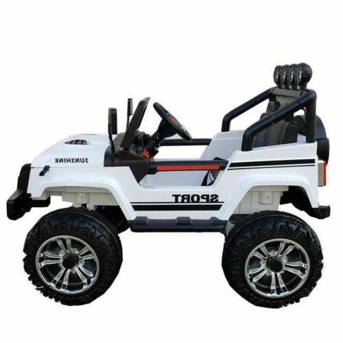 2 Seater 12v Ride Toys LED MP3
