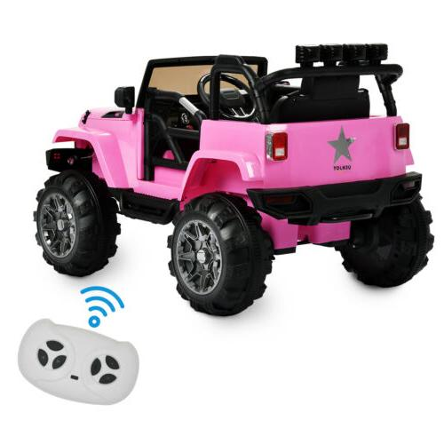 12V on w/ Control Power LED Pink