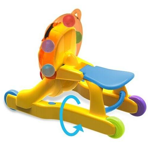 Bright Starts 3 1 Step 'n Ride Lion Infant Play Sounds