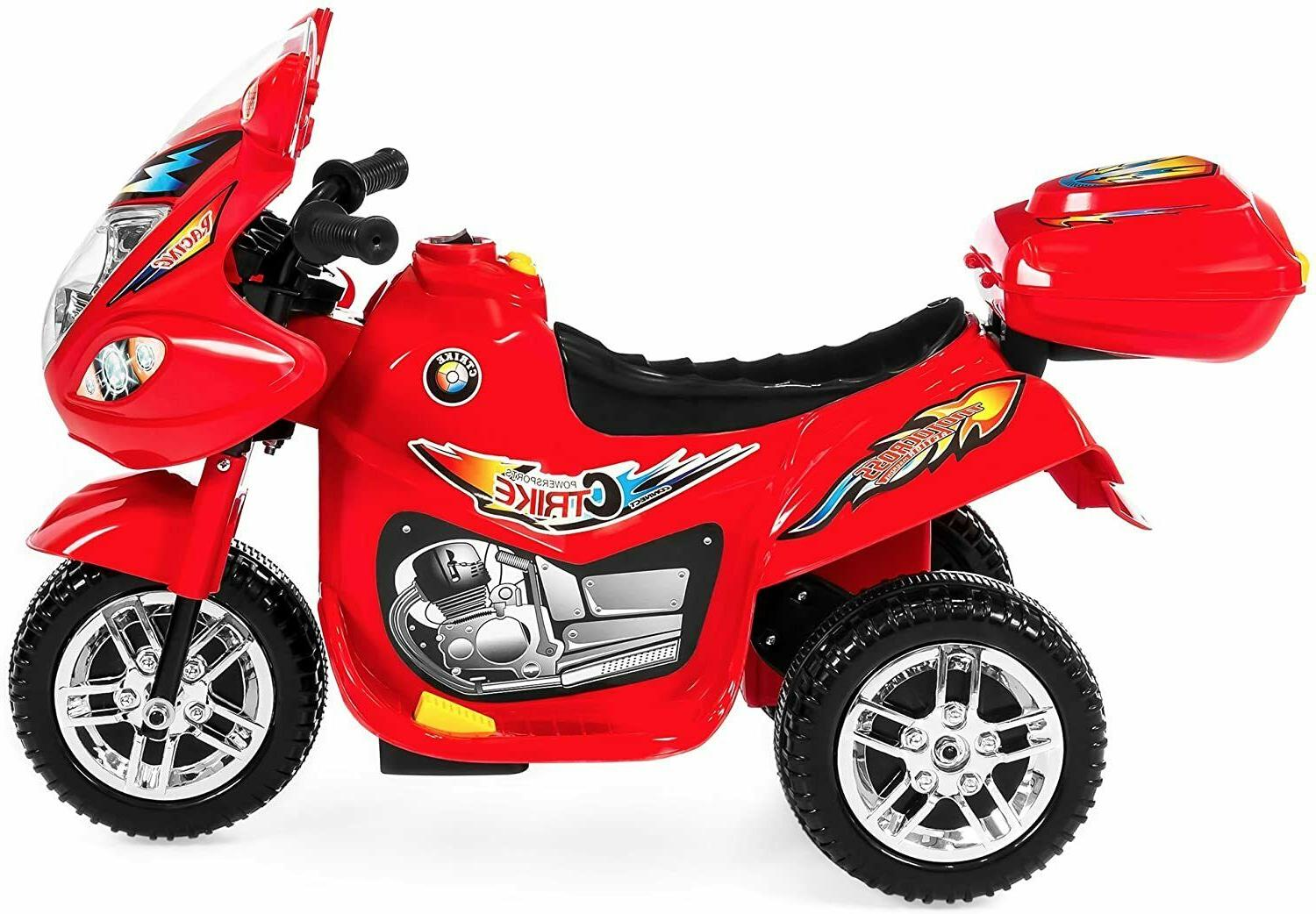 Kids 6V Motorcycle Scooter Ride On