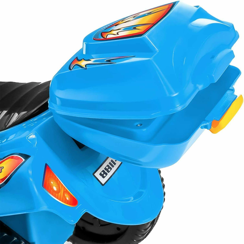 Kids 6V Motorcycle Wheeler Scooter Horn Ride On
