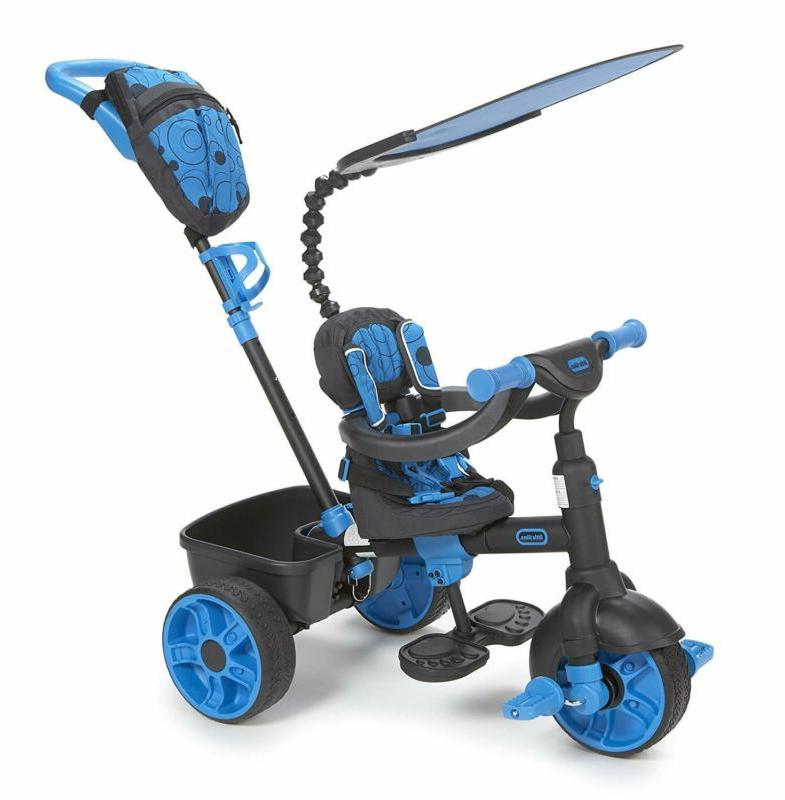 4 in 1 ride on neon blue