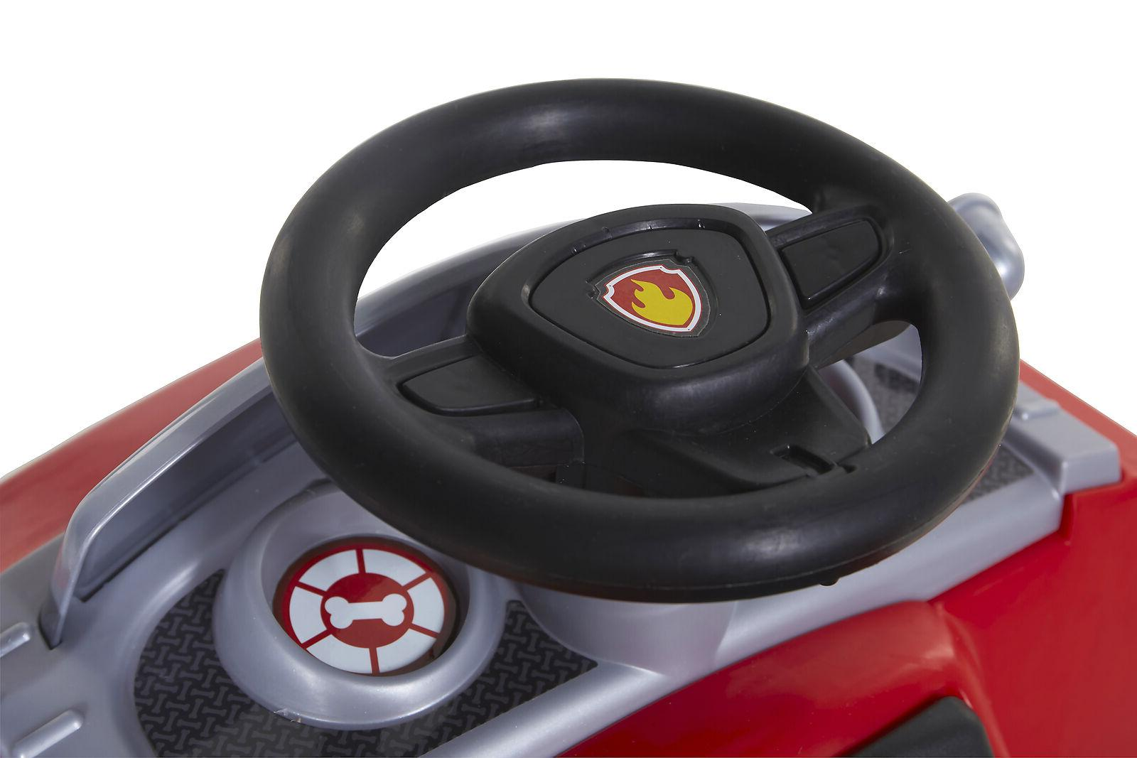 6 Volt Ride-On for Kids With Realistic Firetruck