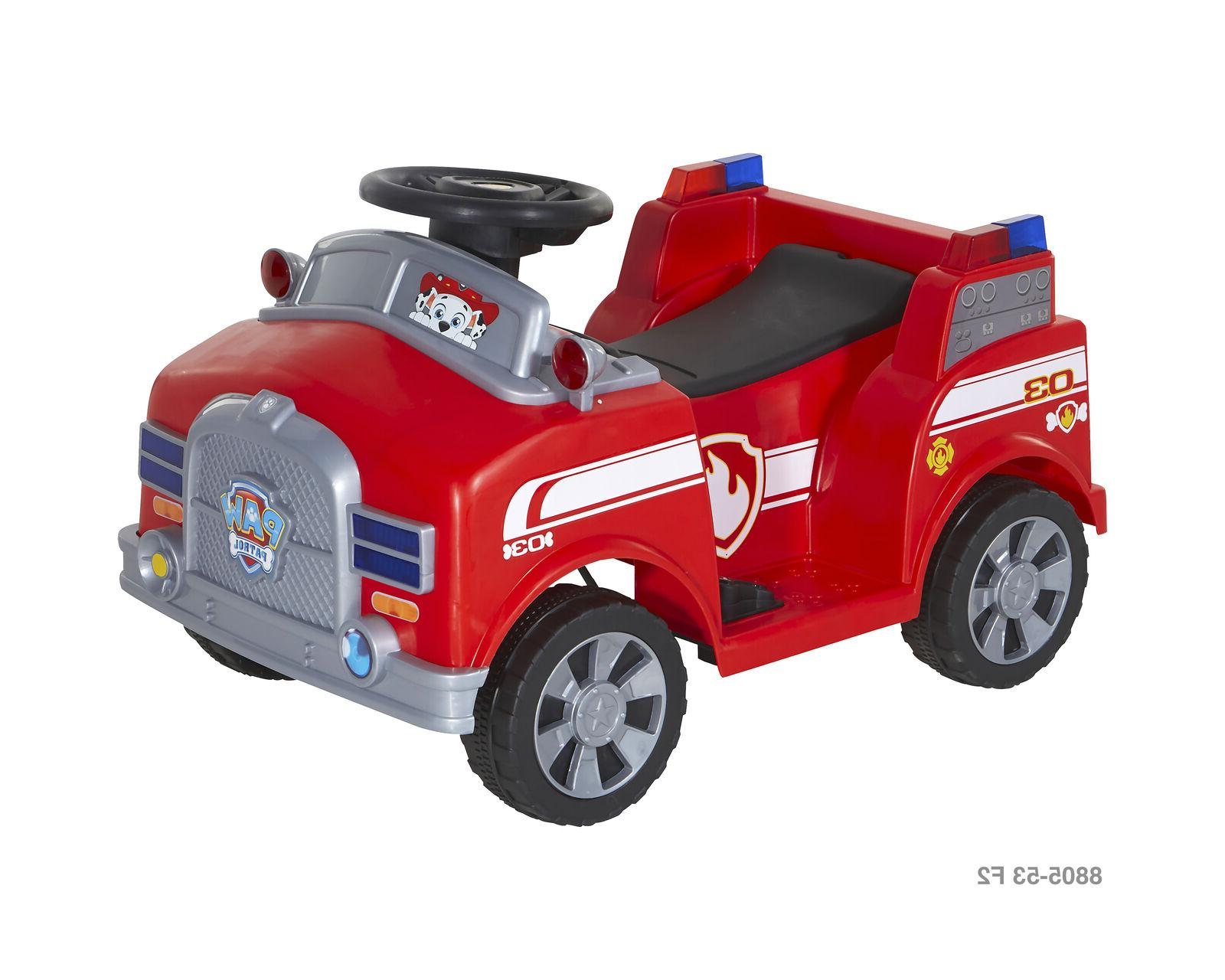 6 Volt Ride-On With Realistic