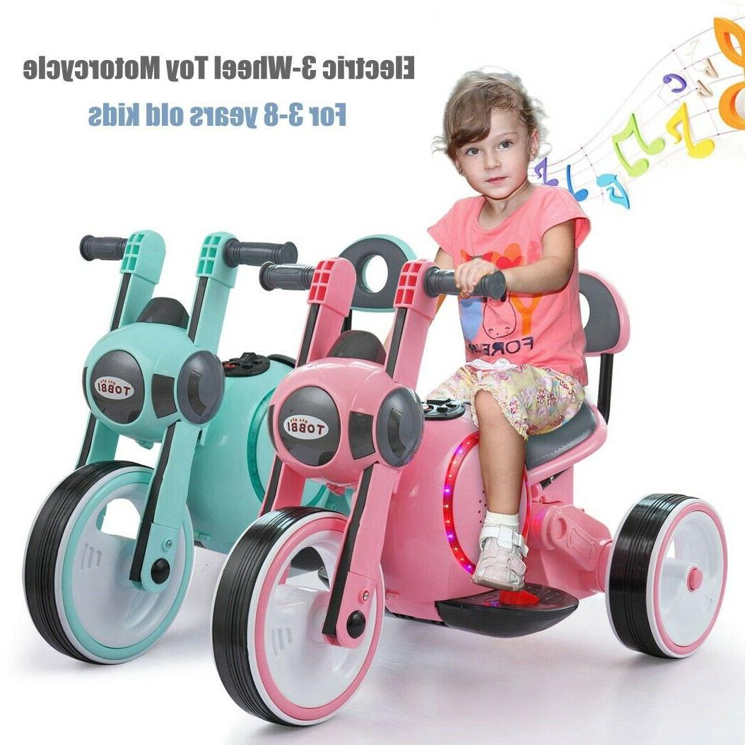 6v electric kids ride on motorcycle toy