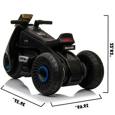 Motorcycle Kids Driving Battery Operated 3