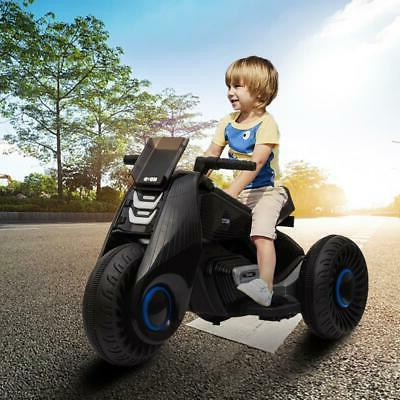 6V Ride Motorcycle Kids Driving Battery 3 Wheels