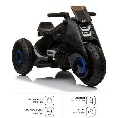 6V Electric Ride Motorcycle Kids Driving Battery