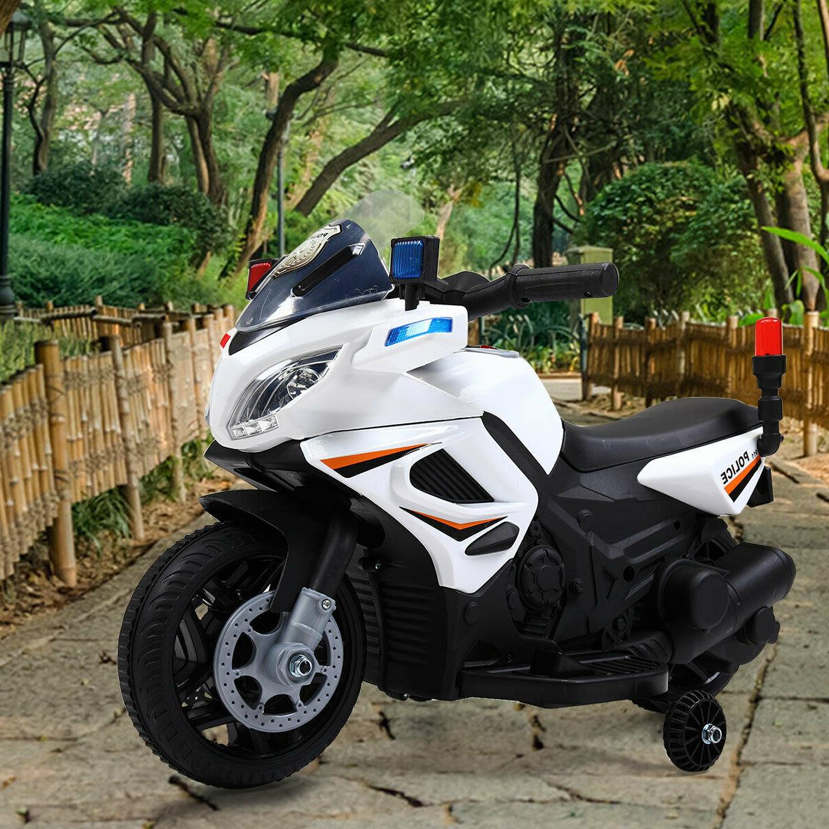 6v kids motorcycle powered electric ride on