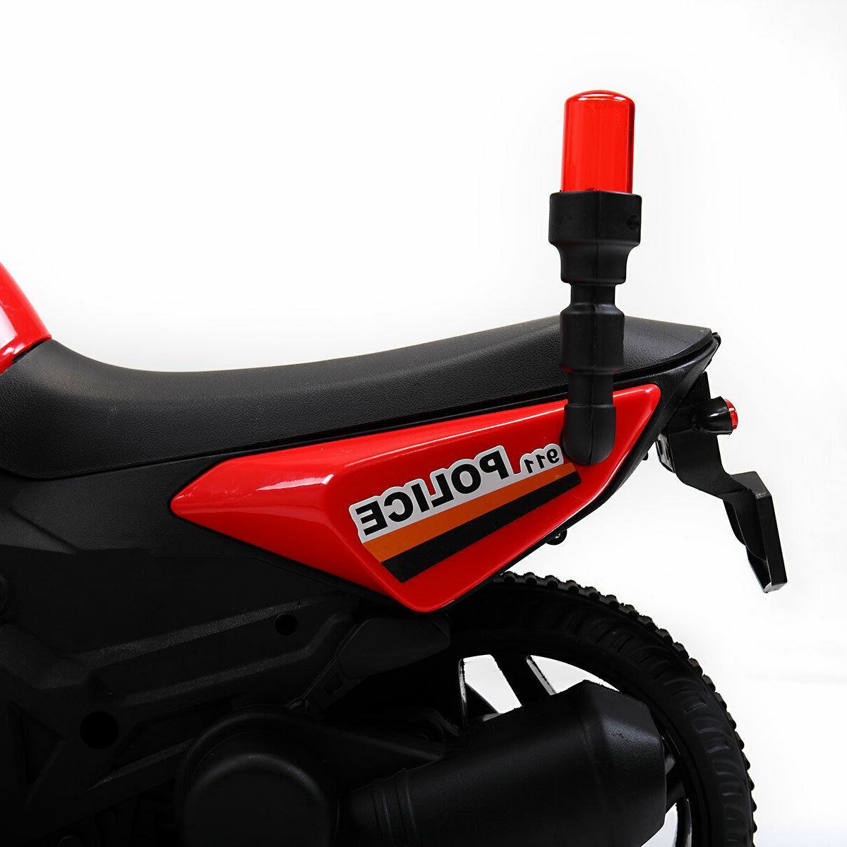 6V Electric On Toy Car 2 Training Wheels