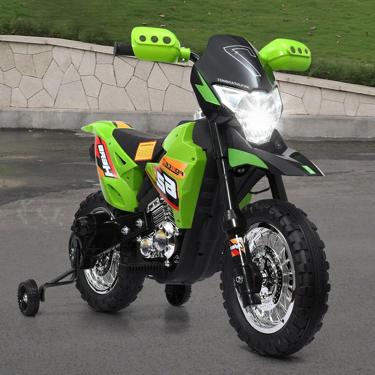 Motorcycle Toy Powered Color