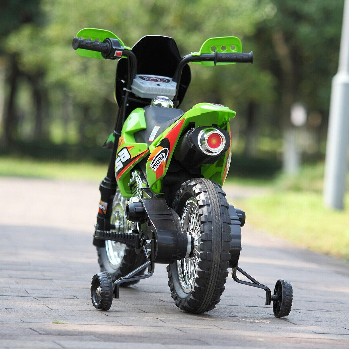 6V Motorcycle Toy Electric Powered wheels Color