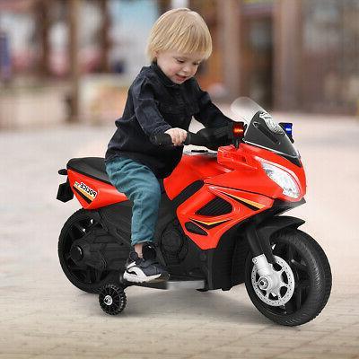 6V Motorcycle Toy w/