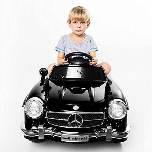 Giantex Black 300sl AMG Rc Electric Toy Kids Baby Ride