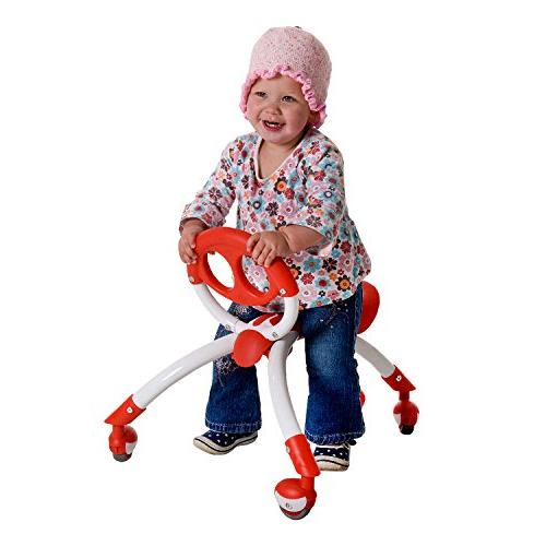 Pewi Toy Walker for Ages 9 to Red