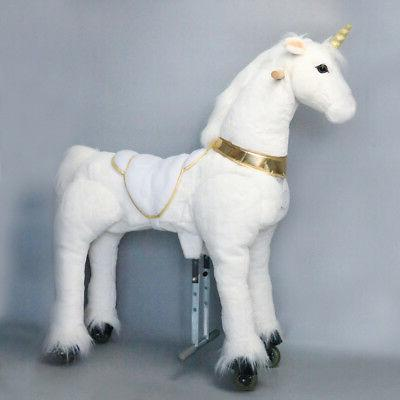 UFREE on Pony Toy Horse 6-Adult, with Golden