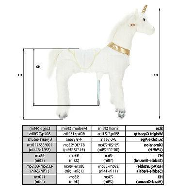 UFREE Action Pony Horse 6-Adult,