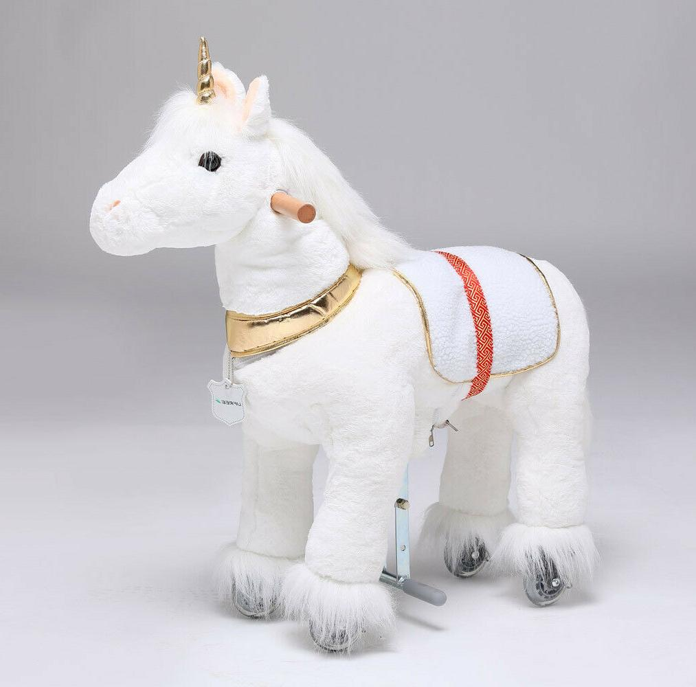 UFREE Action on Golden Unicorn Small Size, Kid