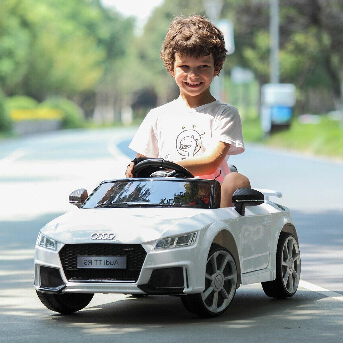 Audi TT RS Ride Electric Licensed R/C Remote Control