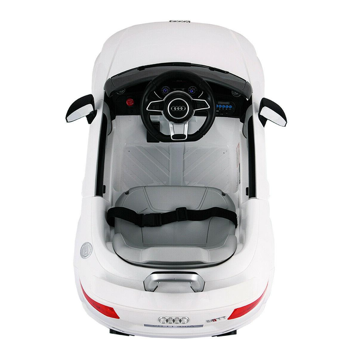 Audi Ride On Electric Licensed MP3 Remote
