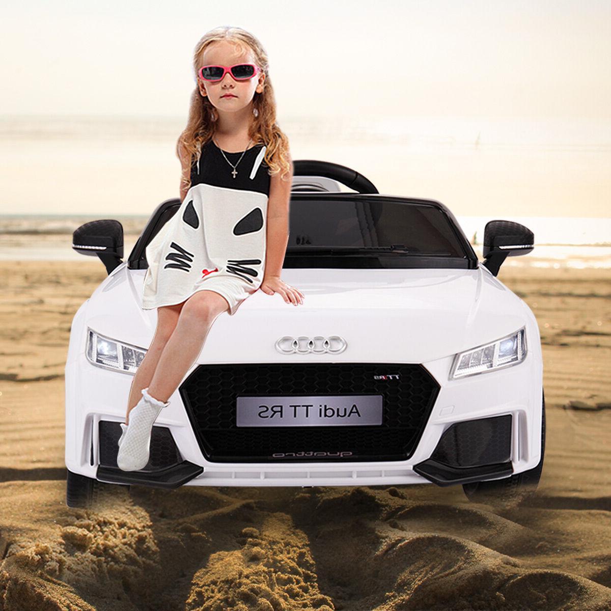 audi tt electric ride car