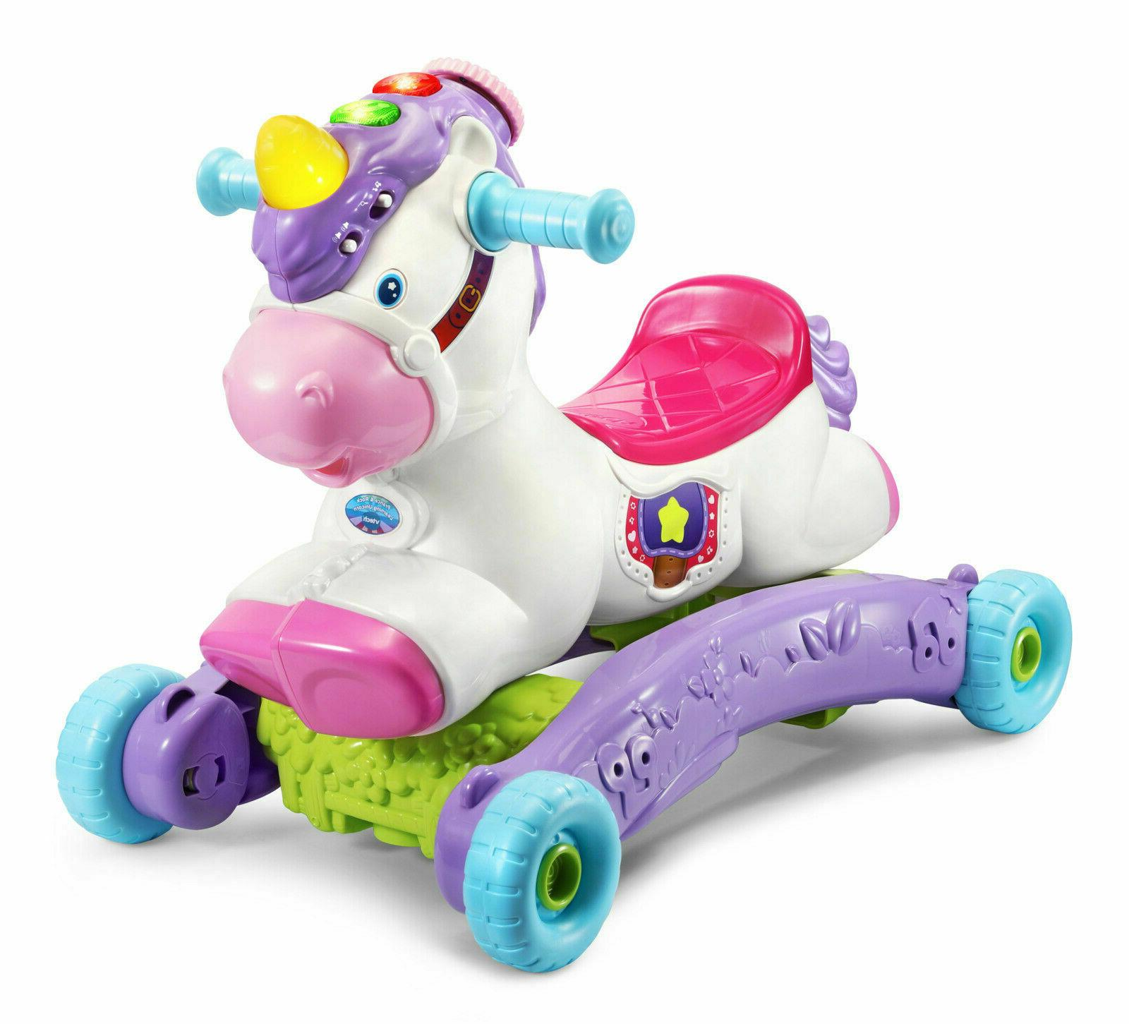 Baby Unicorn Toy Rocking Music Girls