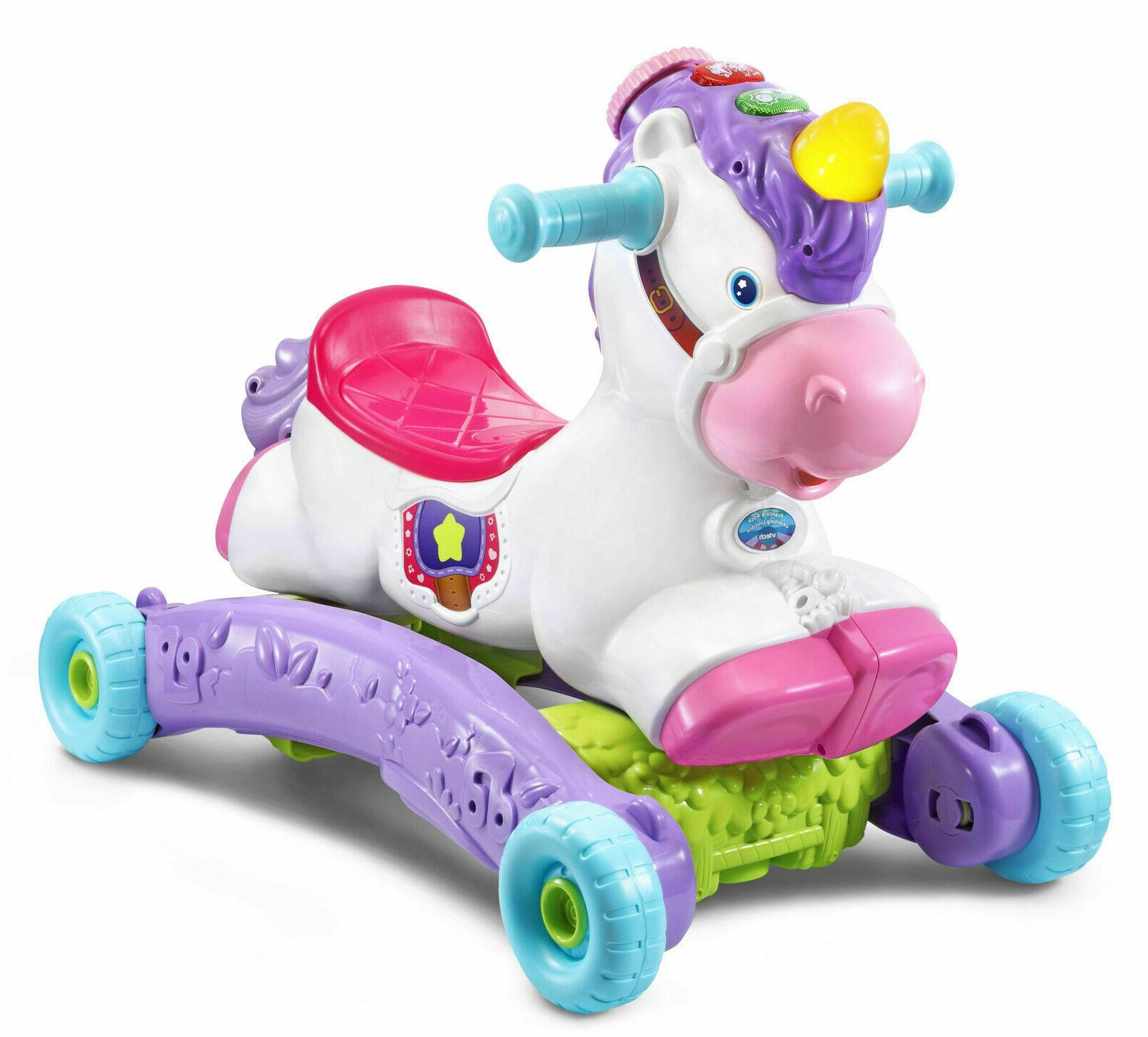 Baby Interactive Learning Unicorn Toy Ride On Toddler