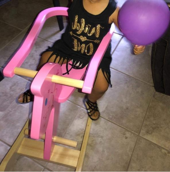 Labebe Pony Rocking Chairs Gift