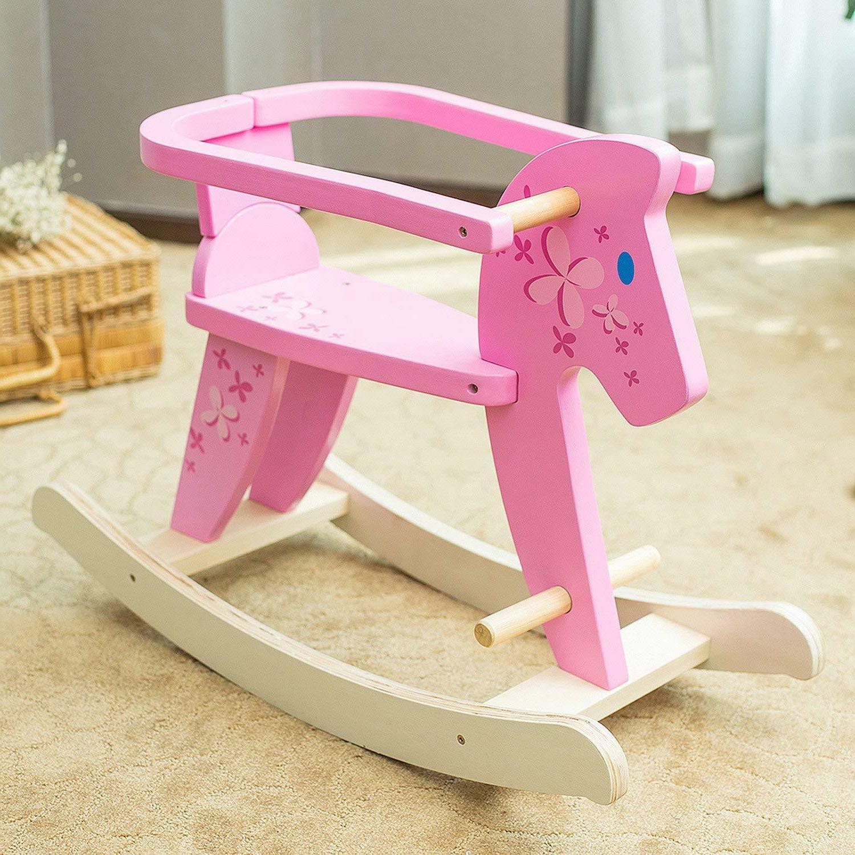 baby ride on pony rocking horse toy