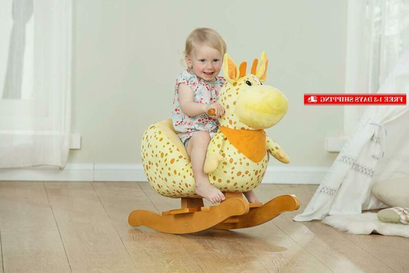 Labebe - Horse, Rocker, Ride Toy 1-3