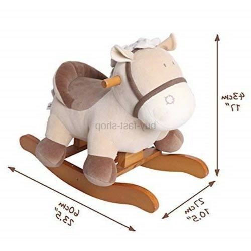 labebe - Horse Plush, on Year Old,