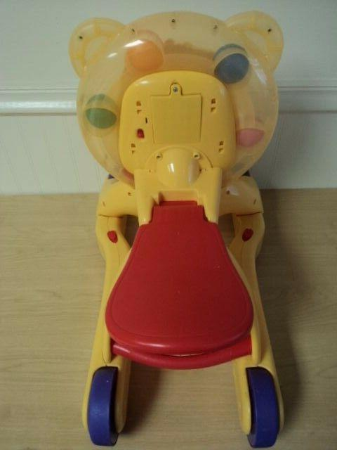 Baby Sit Step Toy 3 Fun Push Scoot