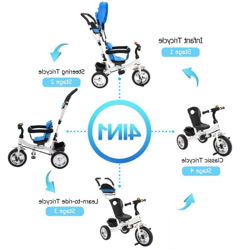 Baby Stroller Tricycle Bike On