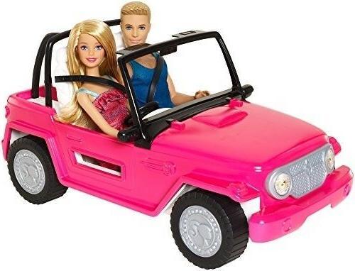 barbie doll ken ride on car