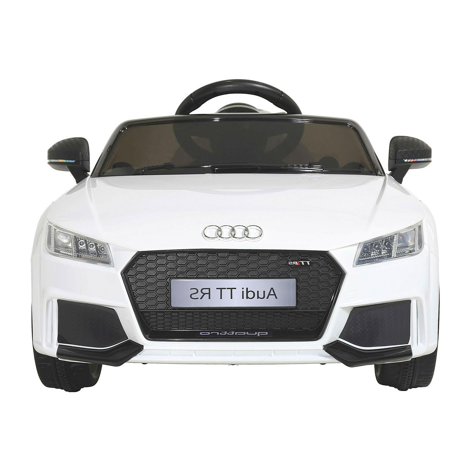 Battery Powered Car Kids 6V Electric Audi Toddler