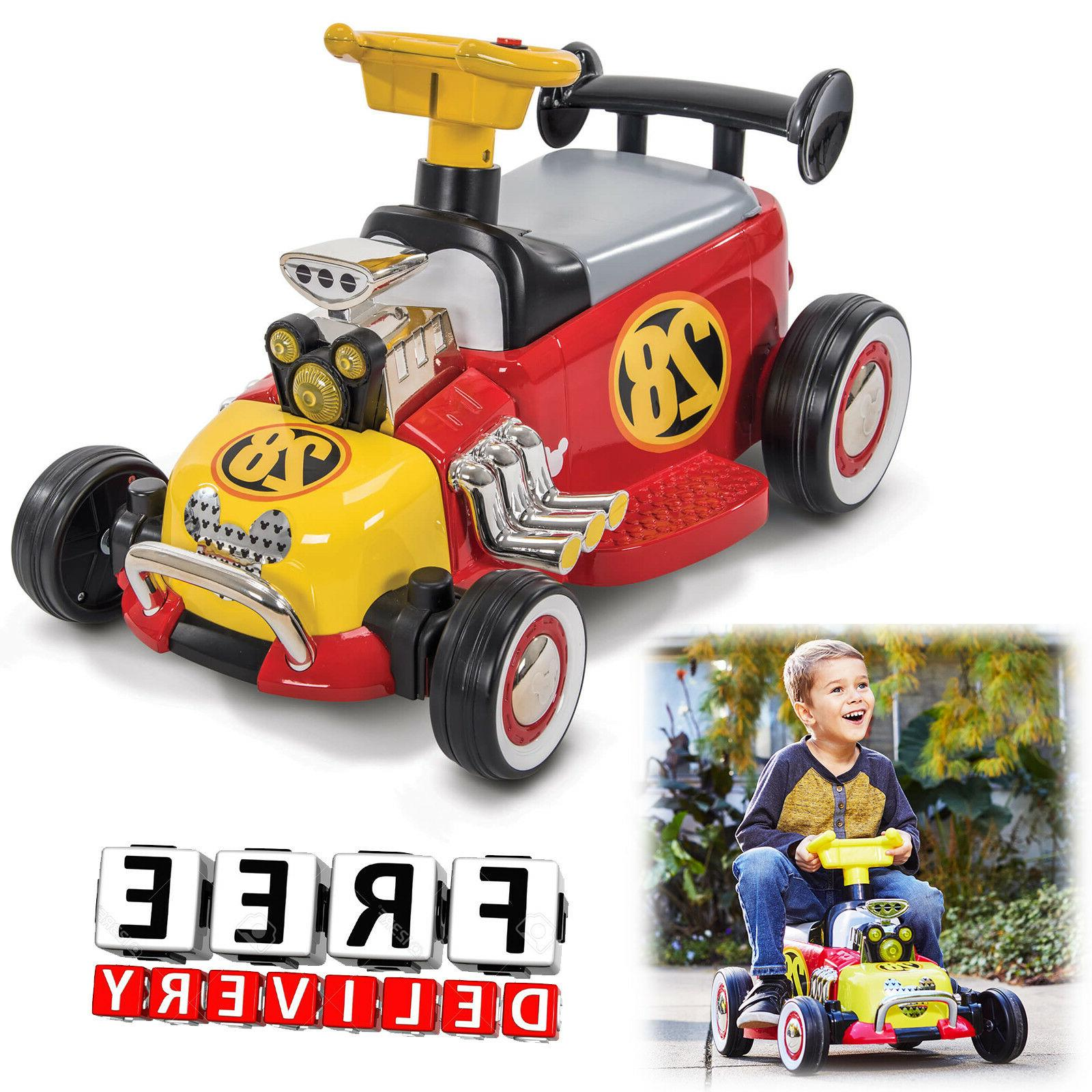 Battery Powered Car Kids Ride On Toy 6V Electric Truck Disne