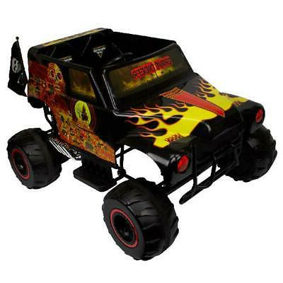 Battery-Powered Ride-On Toys Kids Electric Monster Jam Grave