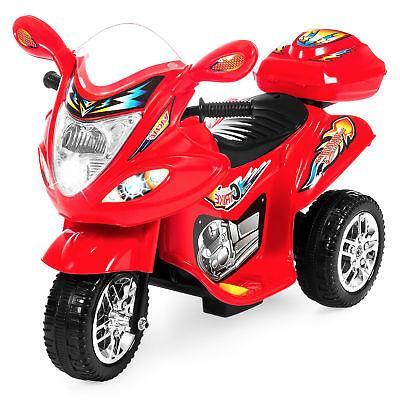 bcp 6v kids 3 wheel motorcycle ride