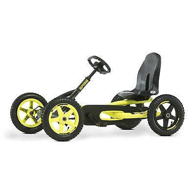 BERG Cross On Axle Steering, Black & Yellow