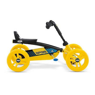 BERG Buzzy BSX On with Steering, Yellow