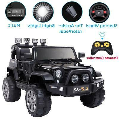 12V Kids Toys Ride on Car Jeep Electric Power with Parent Re