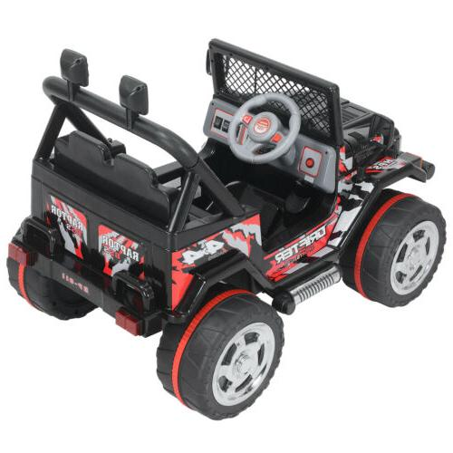 Black 12V Car Electric 3 Speed