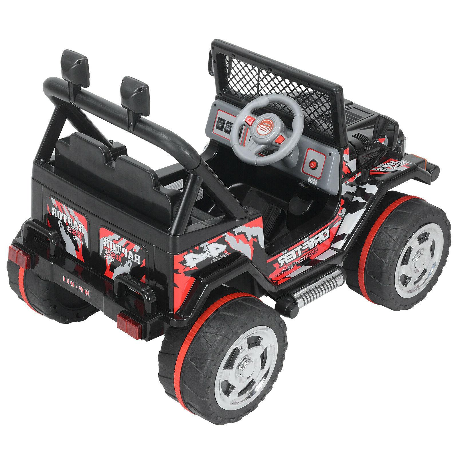 Black Car Electric Power Toys