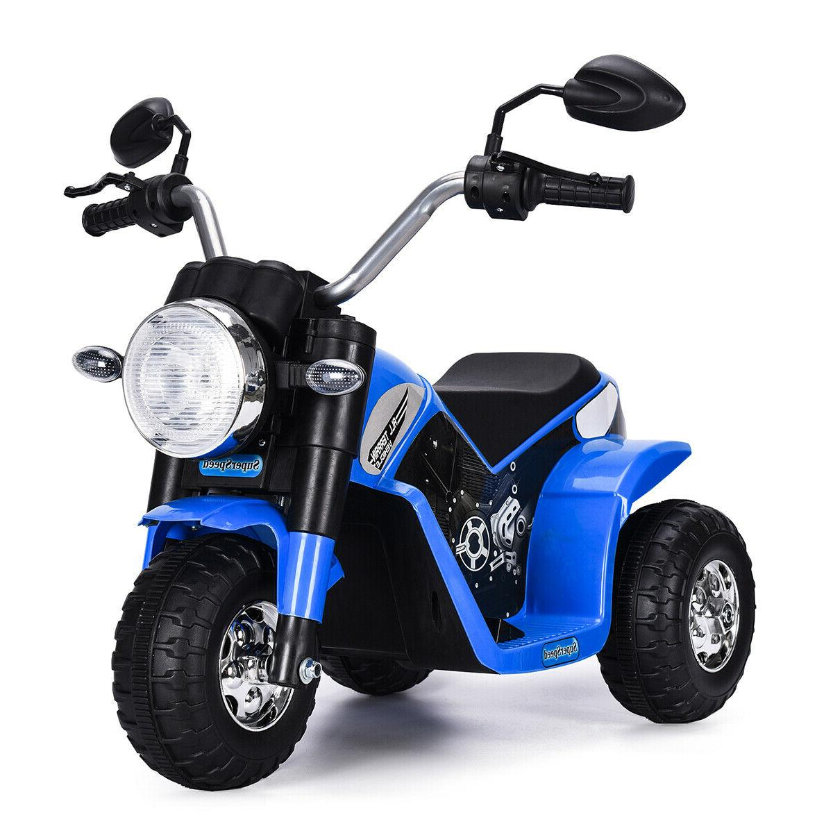 blue 6v toy battery powered electric kids