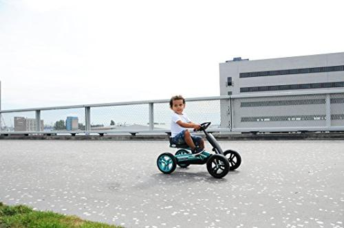 buzzy racing teal pedal go