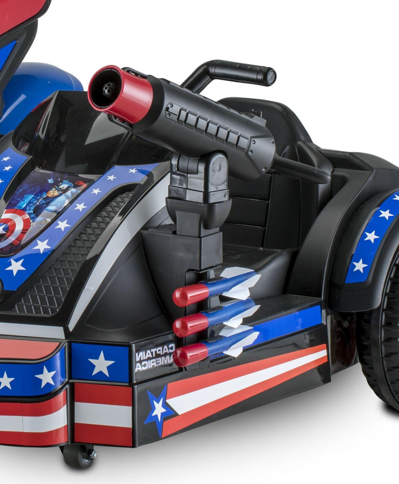 Captain Sidecar Kid Ride-On Toy Sidewalk