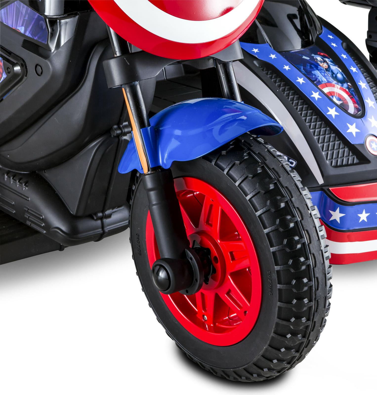 Captain America Kid Ride-On Rechargeable